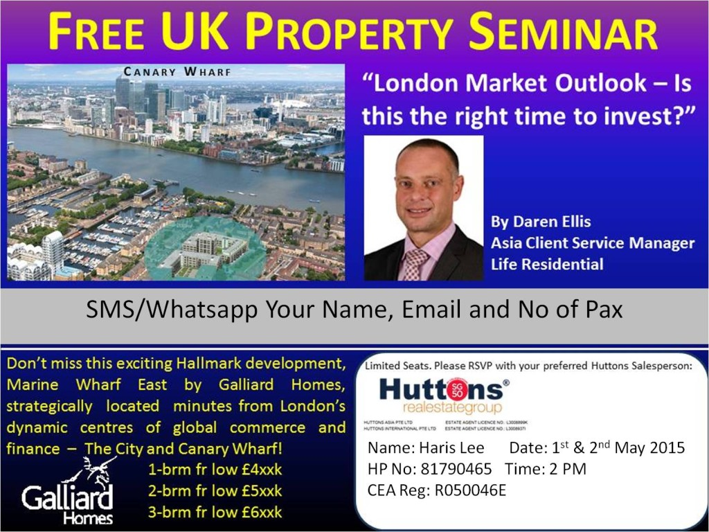 Marine Wharf East London Property Seminar
