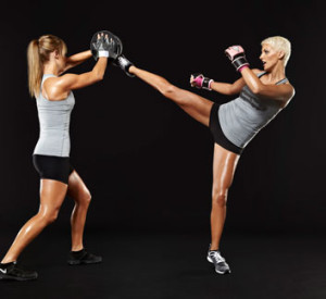kickboxing lesson