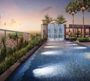 8m residences swimming pool