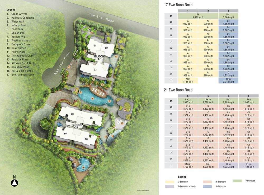 hallmark residences site plan