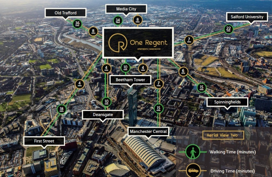 One Regent Manchester Amenities