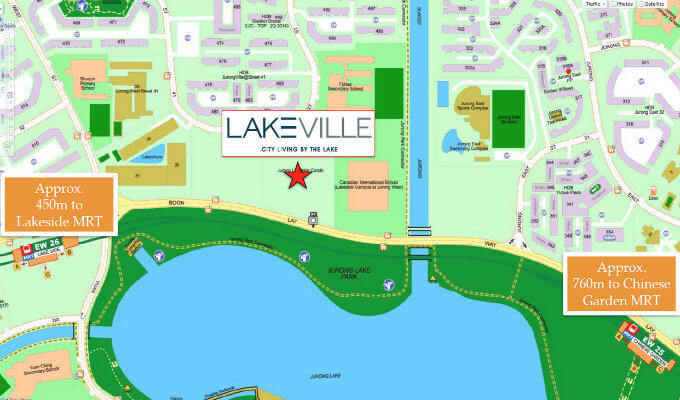 lakeville condo location