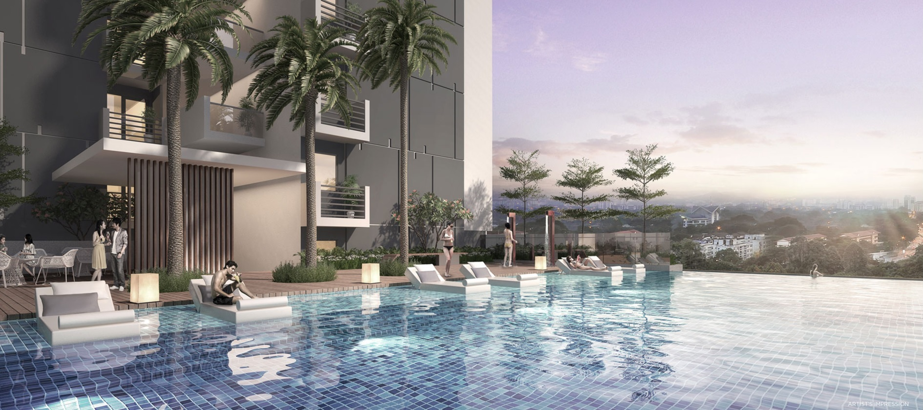 Oxley Convention City Swimming Pool