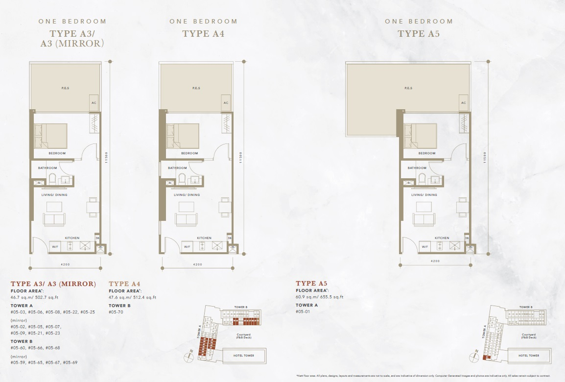 oxley convention city 1 bedroom floor plan