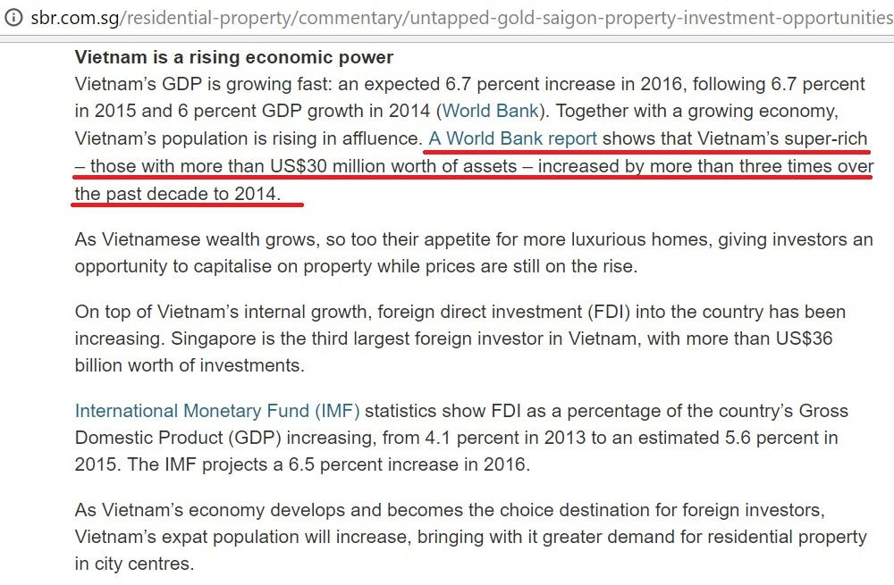 Vietnam rising economic power