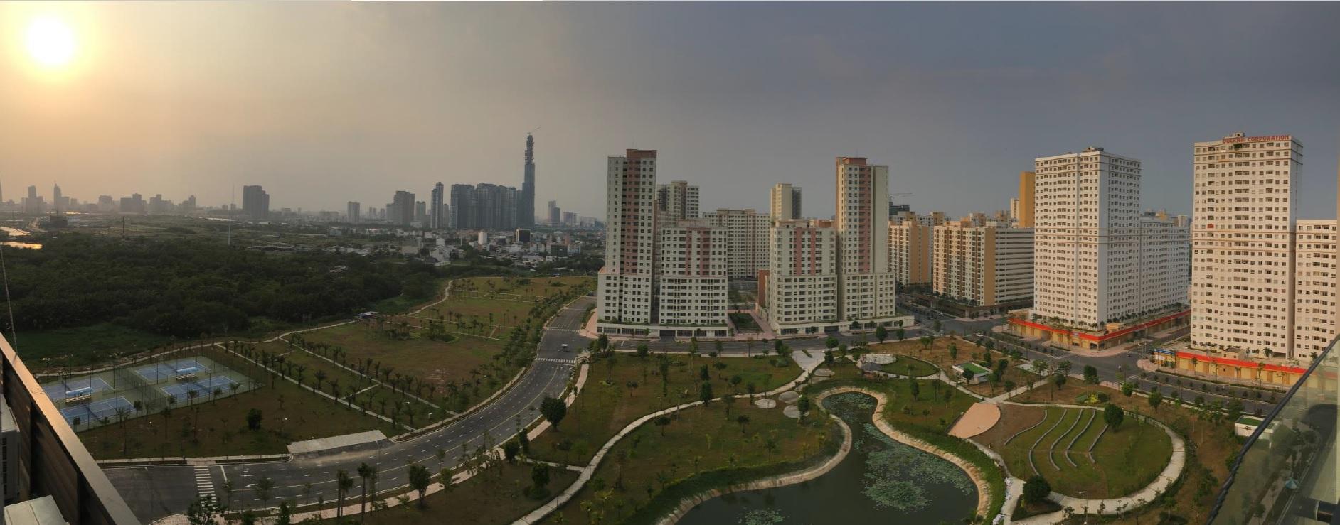 New City Ho Chi Minh park view